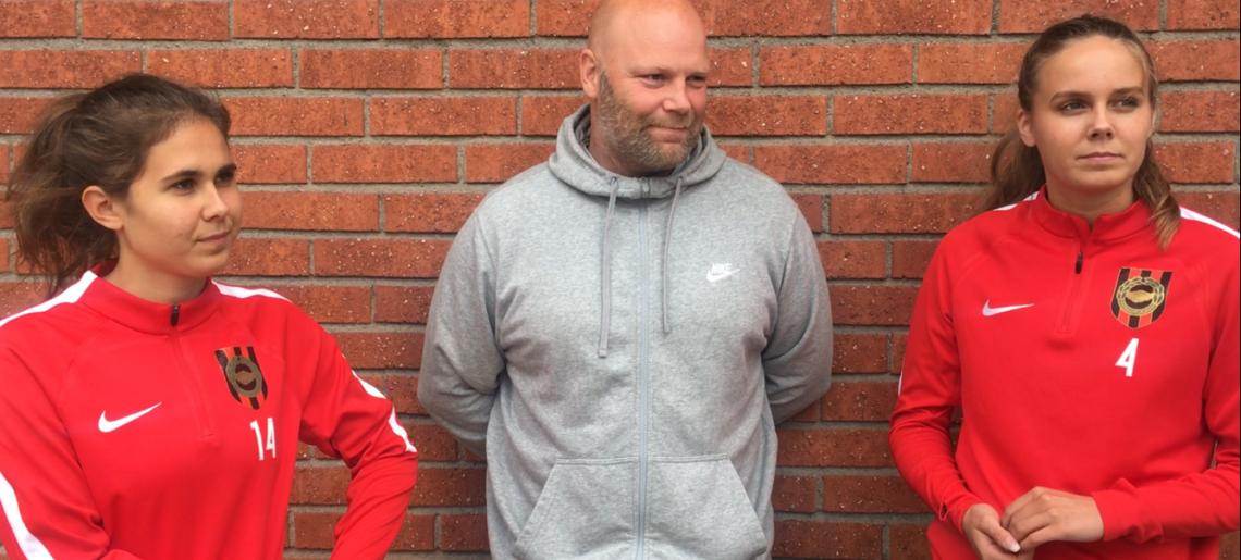 Sista matchen med gänget för Olsson och Albertsson
