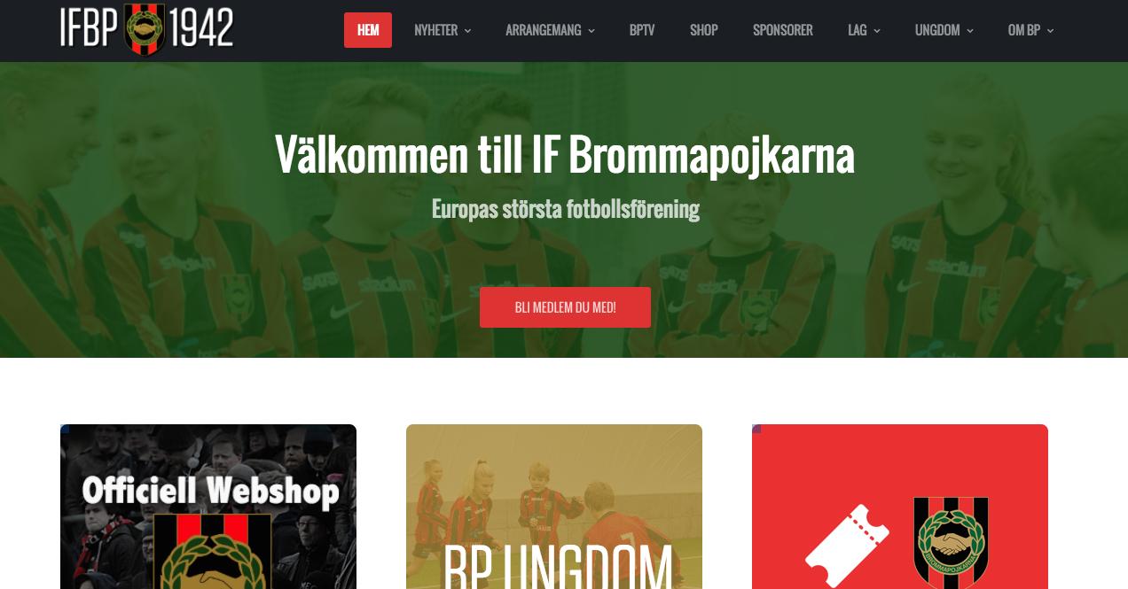 Välkommen till BPs nya hemsida