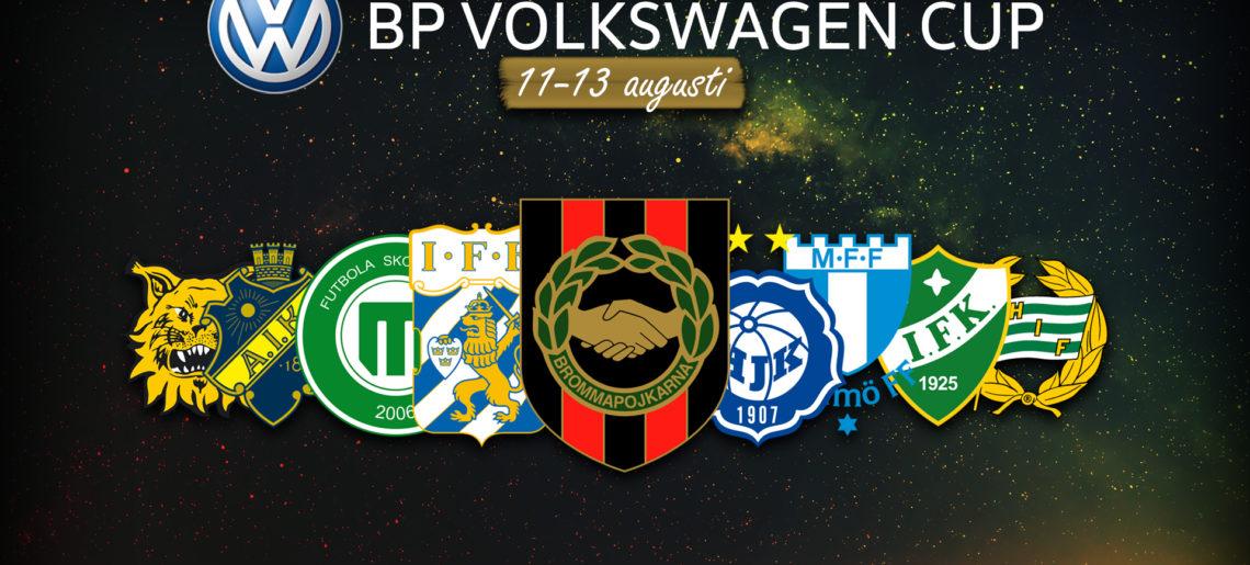 BP Volkswagen Cup drar igång
