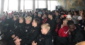 Akademi Pojk samlades för informationsmöte