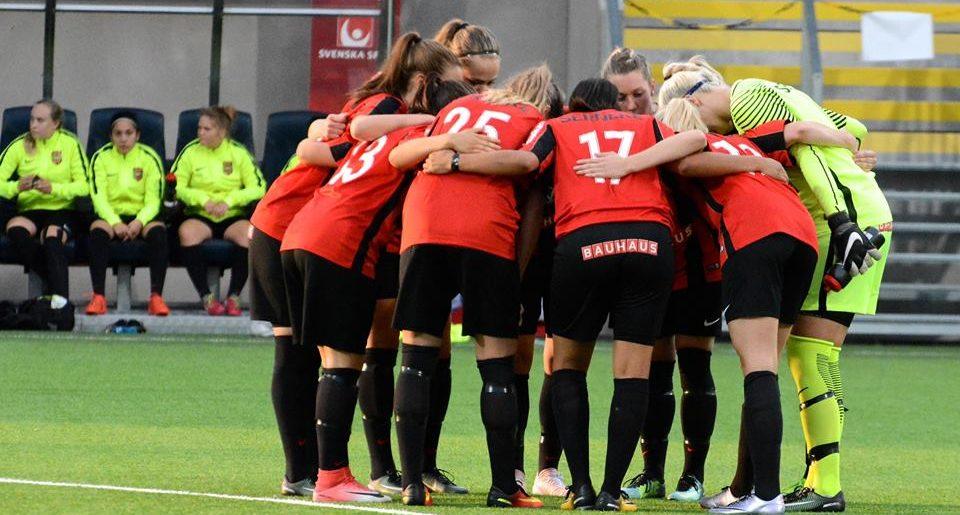 BP defilerar hem Division Ett efter vändning mot Tyresö FF