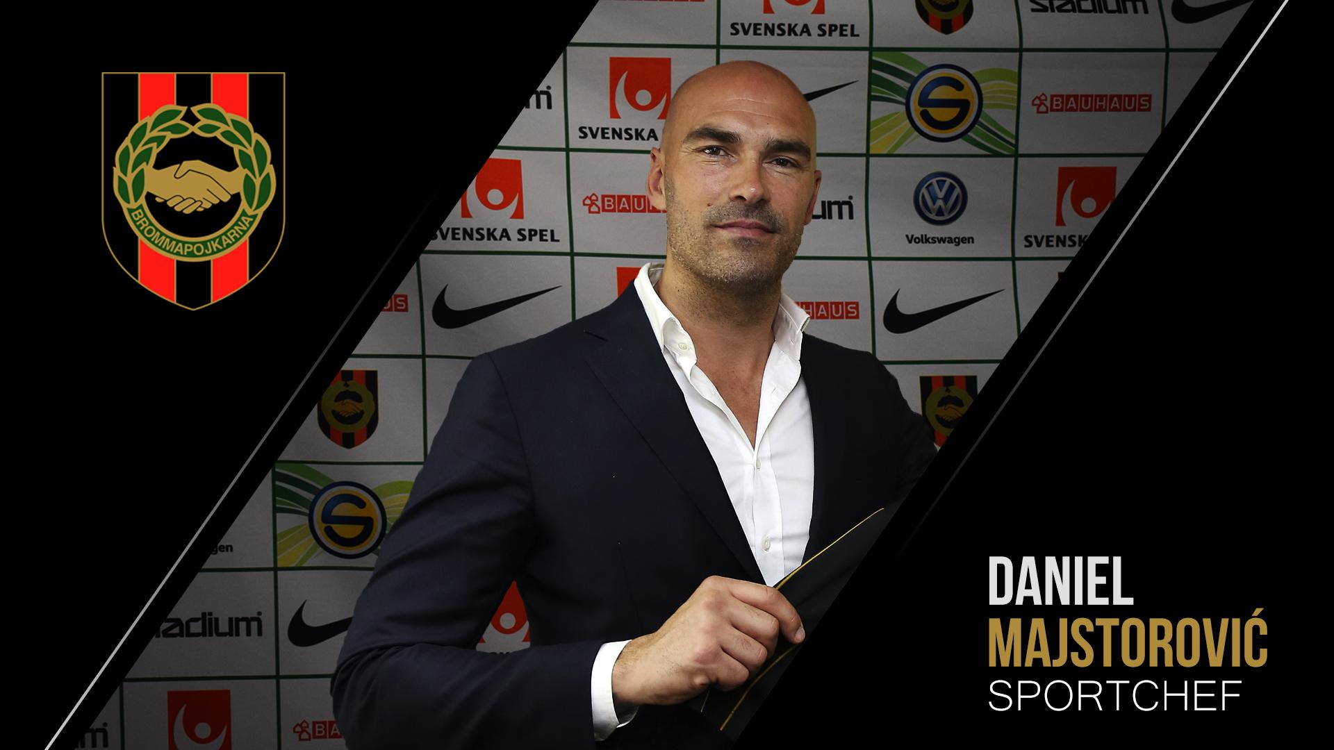 Daniel Majstorovic ny Sportchef Herr i BP