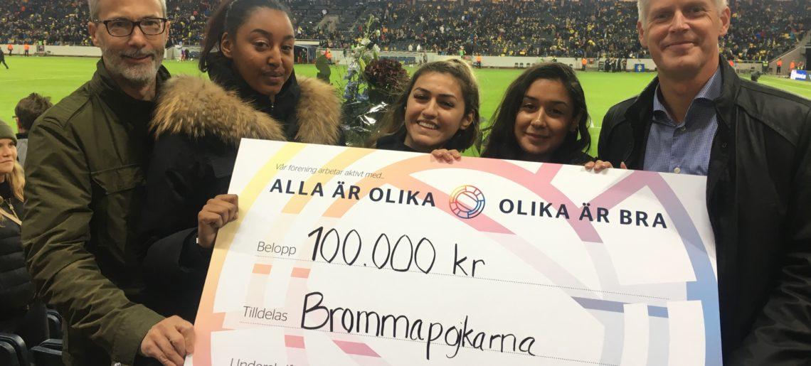 Systrar Runt Hörnet ger tjejer gemenskap med hjälp av BP
