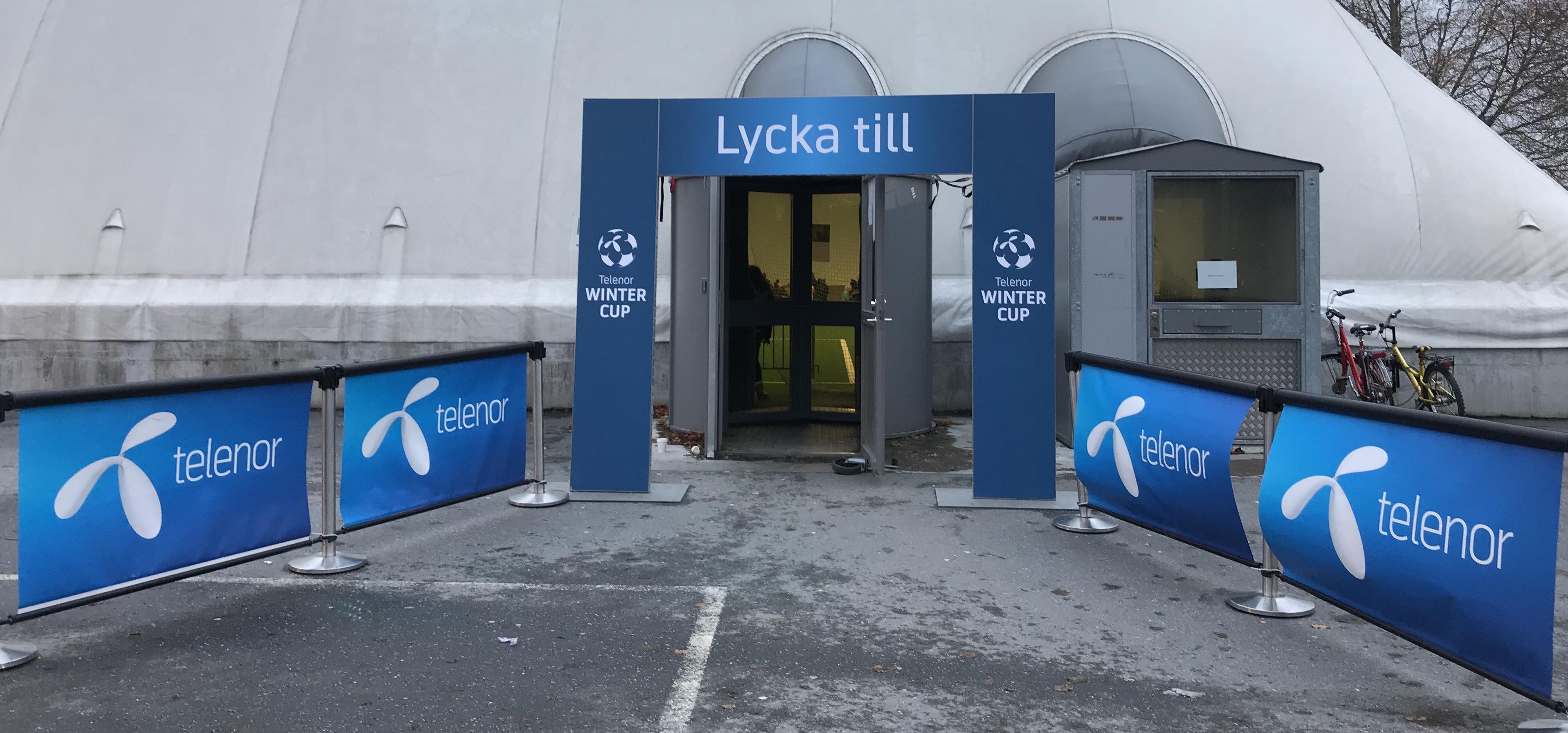 Första Telenor Winter Cup för säsongen blev en succé