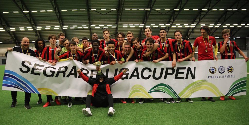 BP vidare i Ligacupen för U17 och U16