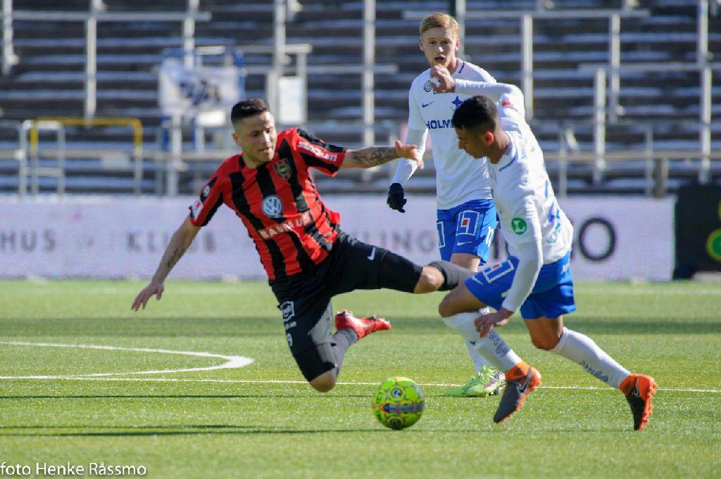 Knapp premiärförlust mot IFK Norrköping