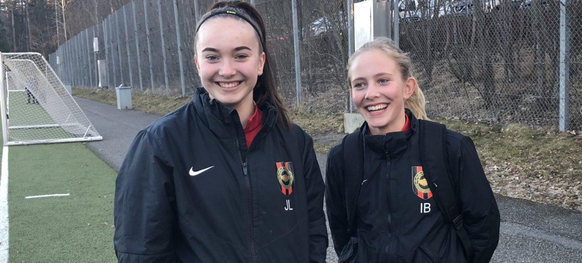 Jennifer Lundgren och Ina Berntzon är BPs nya ungdomsreportrar