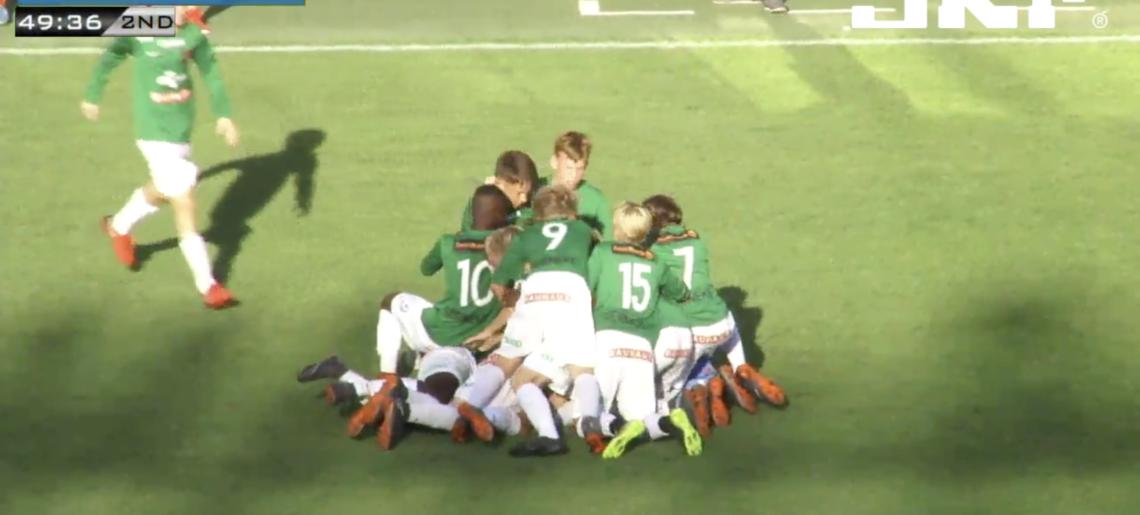 Titel 29 i Gothia Cup säkrad efter spännande final för P05-1