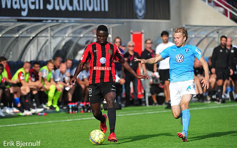 Malmö satte sina chanser och vann på Grimsta