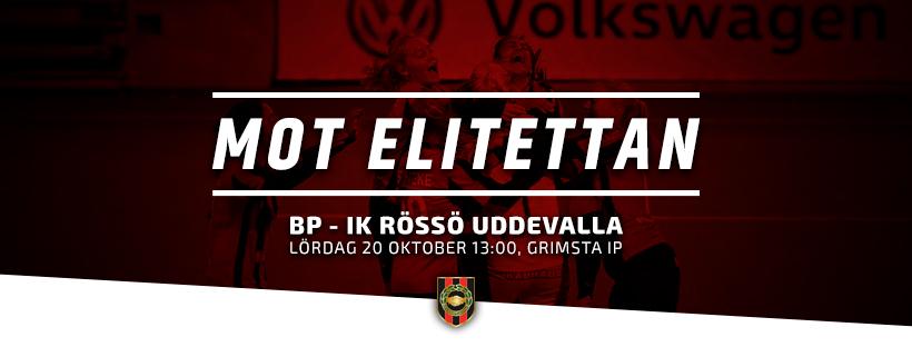 BPTV: Alexsandra Lobanova inför avgörande kvalmatchen mot IK Rössö