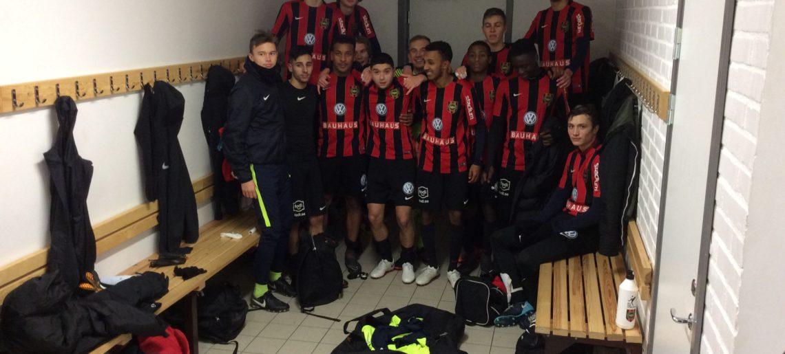 U19: Seger i bortamatch mot Brage.