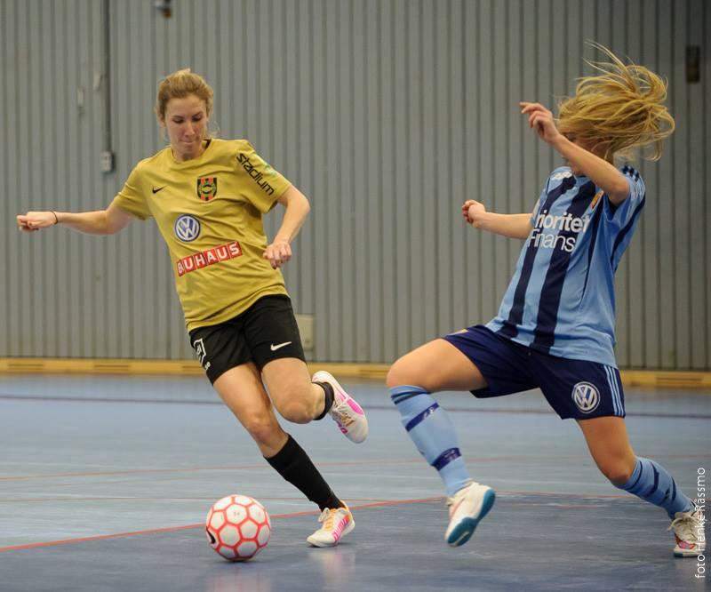 Futsal: Knapp förlust i seriefinalen
