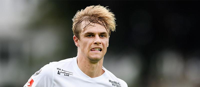 Oscar Pehrsson kliver in i BPs backlinje