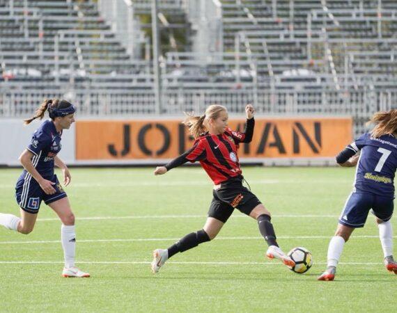 Sara Eriksson kallad till F03-landslaget