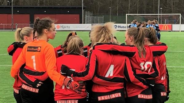 Tufft motstånd väntar för Dam U i Girls Elite Cup