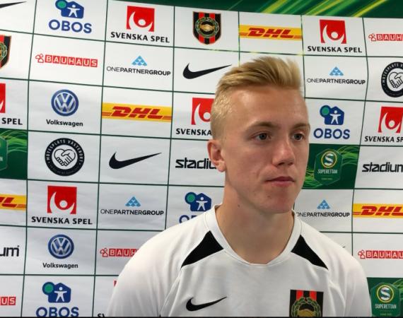 BPTV: Isac Lidberg om sitt första mål i BP och matchen mot Jönköping Södra