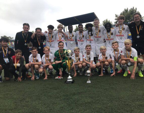 Storartad seger i Madrid Football Cup för P06-1