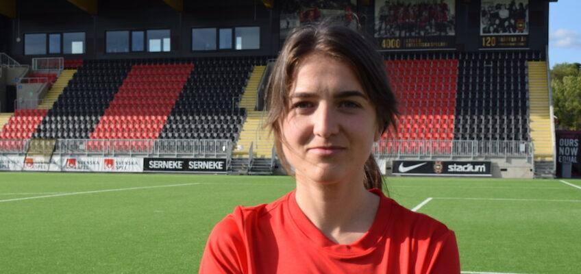 Ronja Holmér ny sportchef flick i BP