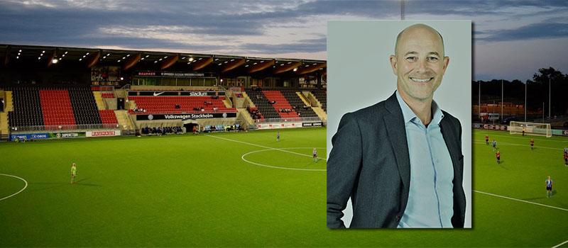 Fredrik Dahlin ny t f Sportchef Herr