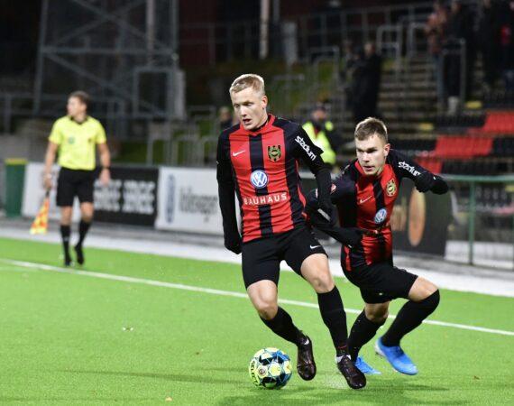 Stark insats säkrade poäng mot Varberg