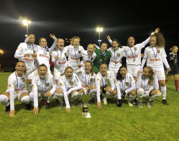 JDM-Guld till DamU efter finalseger mot Enskede IK