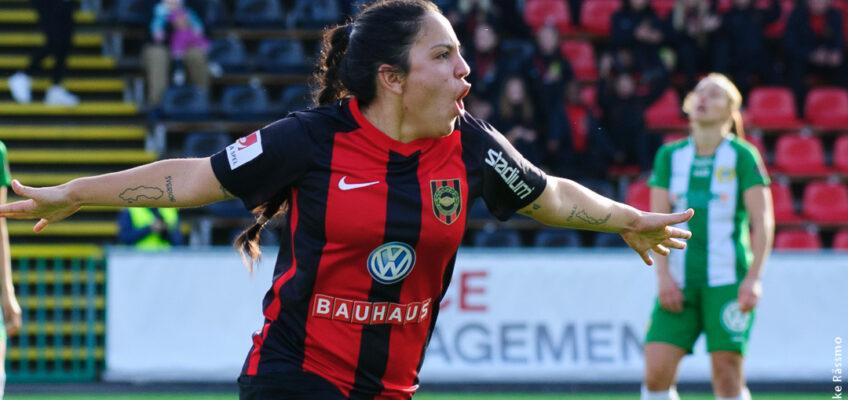 Michelle Rojas Flores förlänger kontraktet