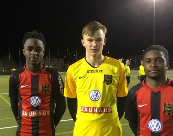Herr U: P17 besegrar Sundsvall i helgens andra ligacupmatch.