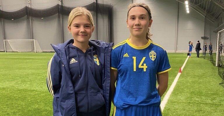 Dam U: Landslagsläger för Ebba och Matilda