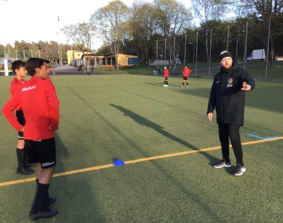 Sebastian Waldenström, ny Chefstränare Akademi pojkar 8-15 år.