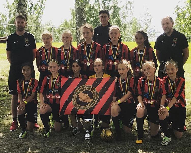 Sommarlovets cuper inledda – framgång för Akademi Flick