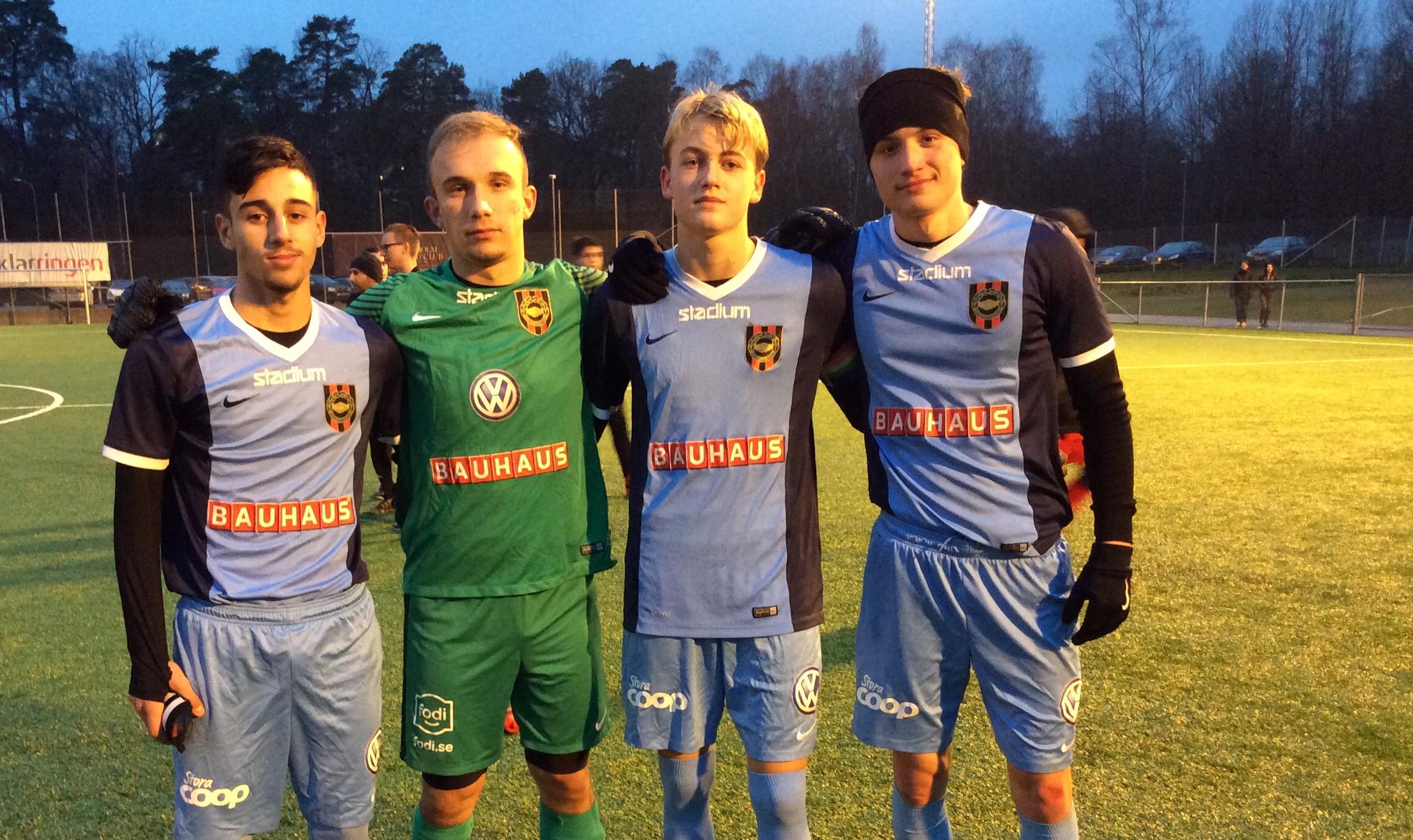 U19: BP klara för slutspel efter seger mot Djursholm.