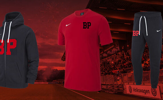 Nya BP-kläder hos Stadium