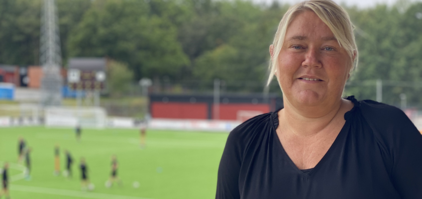 Charlotte Ovefelt tar över som Klubbchef i Älvsjö AIK!