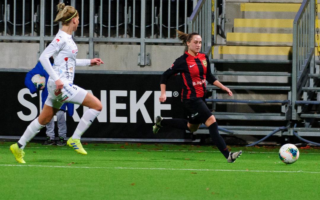Jennifer Sjösten mot Kalmar 23 okt 2020 Henke