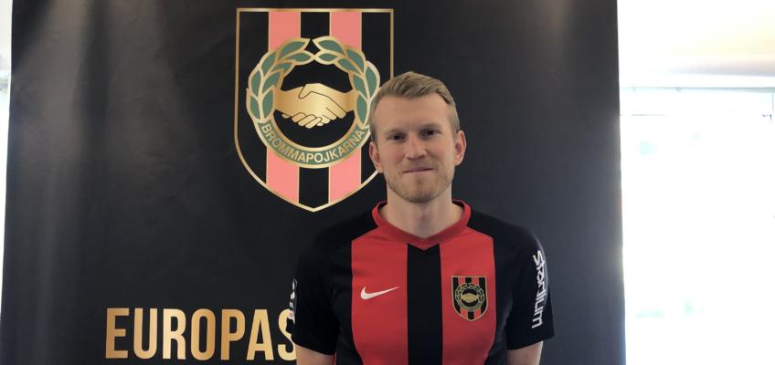 Carl Elfgren Nyström klar för BP