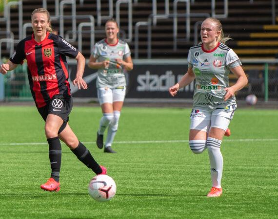 Emma Lundh och BP går skilda vägar