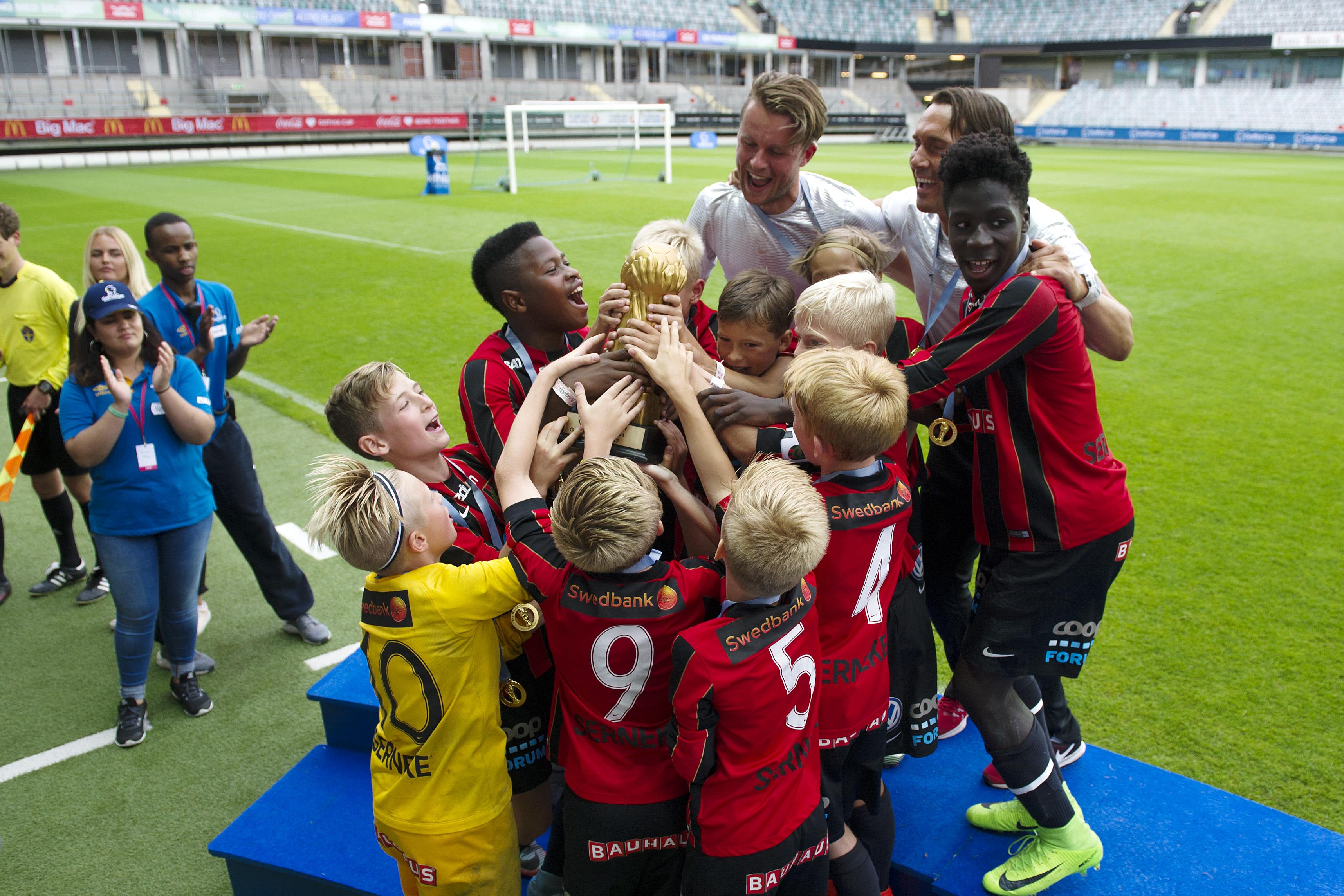Guld och fina placeringar – BP gick starkt i Gothia Cup