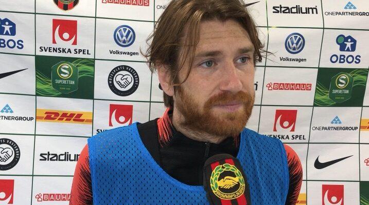 BPTV: Markus Gustafsson inför mötet med Degerfors