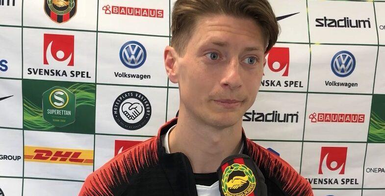 BPTV: Johan Falkmar inför BP-Degerfors