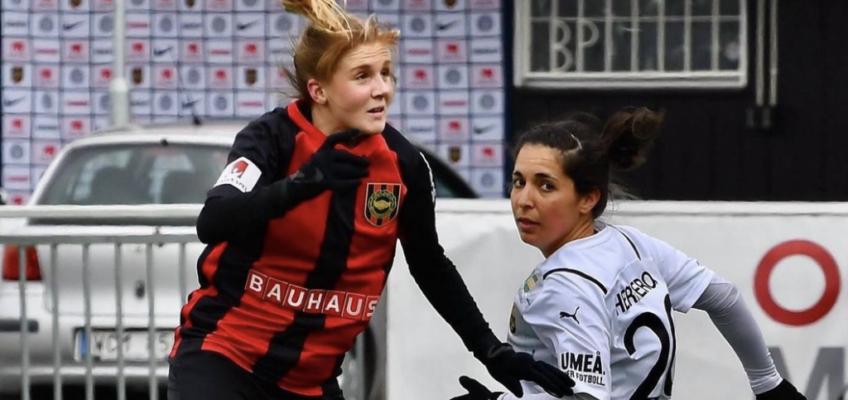 Damlagets match mot Borgeby FK skjutits upp